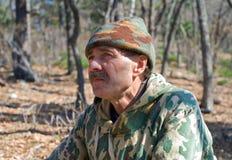 man för kamouflage 14 Royaltyfri Foto