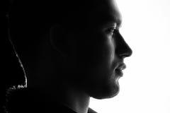 Man face Stock Photography