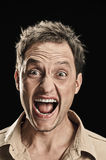 Man face Stock Photos