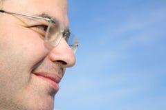 Man face closeup Royalty Free Stock Photo
