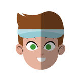 Man face icon Royalty Free Stock Image