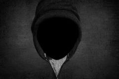 Man without a face Royalty Free Stock Image