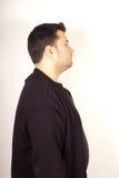 Man facial expression Royalty Free Stock Image