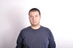 Man facial expression Royalty Free Stock Photo