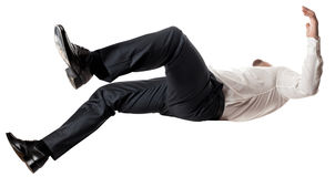 Man falling down Stock Photos