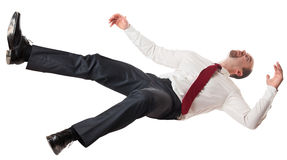 Man falling down Royalty Free Stock Images