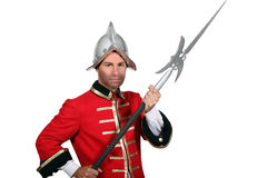 Man in fancy dress costume Royalty Free Stock Photography
