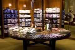 Man fashion department store Stock Image