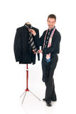 Man fashion designer mannequin, Royalty Free Stock Photography