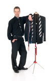Man fashion designer mannequin, Stock Photography