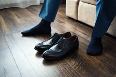 Free Man Fashion, Men`s Accessories,businessman Clothes Shoes, Politi Stock Image - 99299961