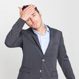 Man feeling sick Royalty Free Stock Photo