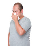 Man feeling unwell Royalty Free Stock Images