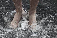 Man feet Royalty Free Stock Photo