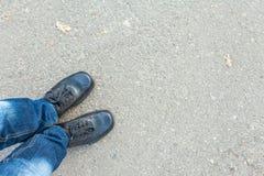 Man feet Royalty Free Stock Image