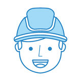 Man firefighter avatar character icon. Vector illustration design Stock Photos