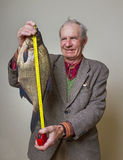 Man with fish. Royalty Free Stock Photos