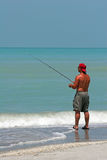 Man Fishing Stock Photos