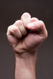 Man fist Royalty Free Stock Image