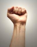 Man fist closeup Stock Photography