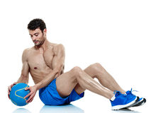 Man  fitness exercises  Stock Photos