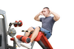 Man fitness exersise Royalty Free Stock Photo