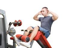 Man fitness exersise royalty free stock photo