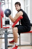Man fitness workout Royalty Free Stock Image