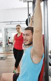 Man fitness workout Royalty Free Stock Photography