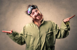Man flying Stock Images