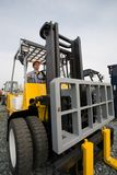 Man forklift Royalty Free Stock Images