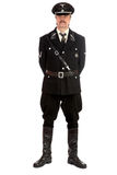 Man in the form  standartenfuehrer ss Royalty Free Stock Photo