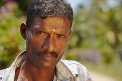 Man från Sri Lanka Arkivbild