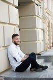 Man freelancer Stock Photo