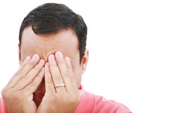 Man frustrated Royalty Free Stock Image