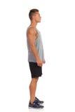 Man Full Length Side View Stock Image
