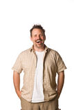 Man with fun expression Royalty Free Stock Photo