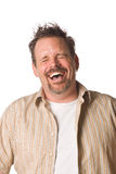 Man with fun expression Stock Photos