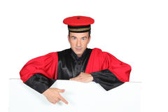 Man in a funny costume Stock Photography