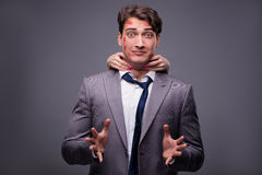 The man in funny romantic concept Stock Photography