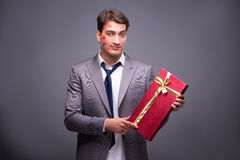 The man in funny romantic concept Royalty Free Stock Photos