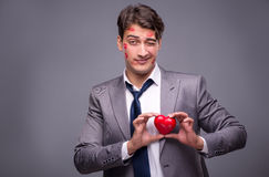 The man in funny romantic concept Royalty Free Stock Photography