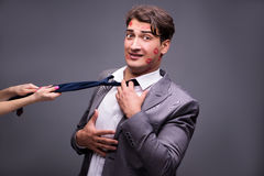 The man in funny romantic concept Royalty Free Stock Photo