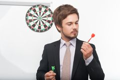 Man and gaming Royalty Free Stock Images