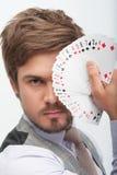 Man and gaming Royalty Free Stock Photography