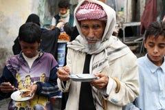 man gammala yemen Arkivbilder