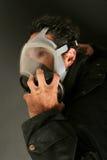 Man in gas mask Stock Photos