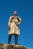Man in Georgian national dress. Stock Photos