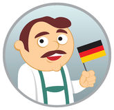 Man from Germany. See more  nationalities in my portfolio Royalty Free Stock Image