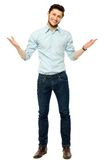 Man gesturing Royalty Free Stock Photo
